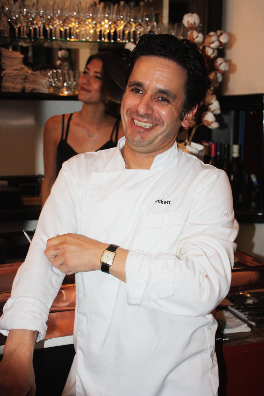 le chef chilien Raimundo Briones