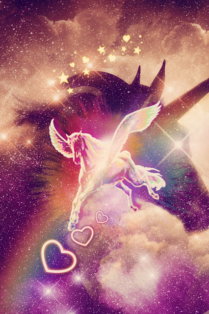 universo-unicórnio-mágico-wallpaper-celular-dlownload