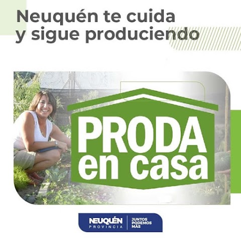 San Martín de los Andes se suma al Plan #PRODAENCASA
