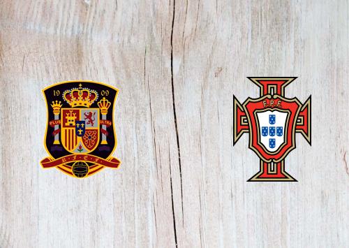 Spain vs Portugal -Highlights 04 June 2021