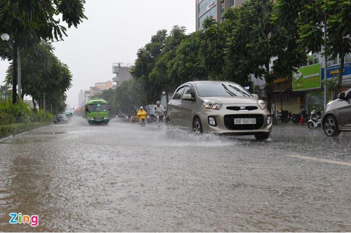Những lưu ý để khi lái xe an toàn khi trời mưa