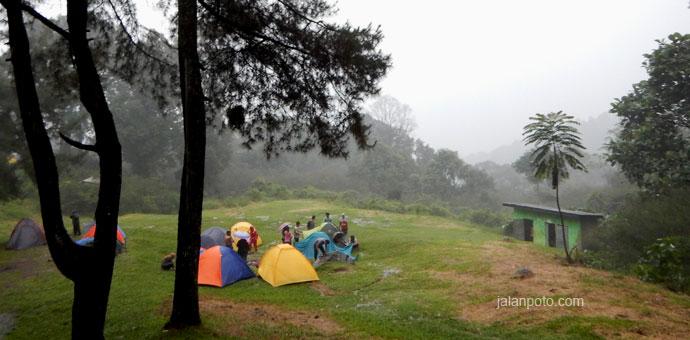 sukamantri camping