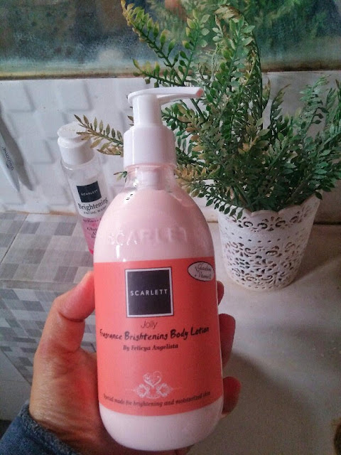 body lotion scarlett jolly