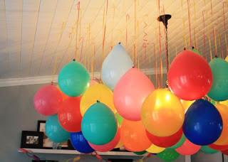 Decoracion de Techos para Fiestas Infantiles, parte 2