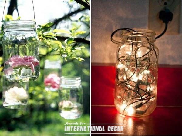 Recycle Glass Bottles Floating Garden Flower Vases