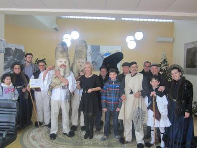 Πρωτοχρονιάτικα Κάλαντα στην Αντιπεριφερειάρχη Πιερίας