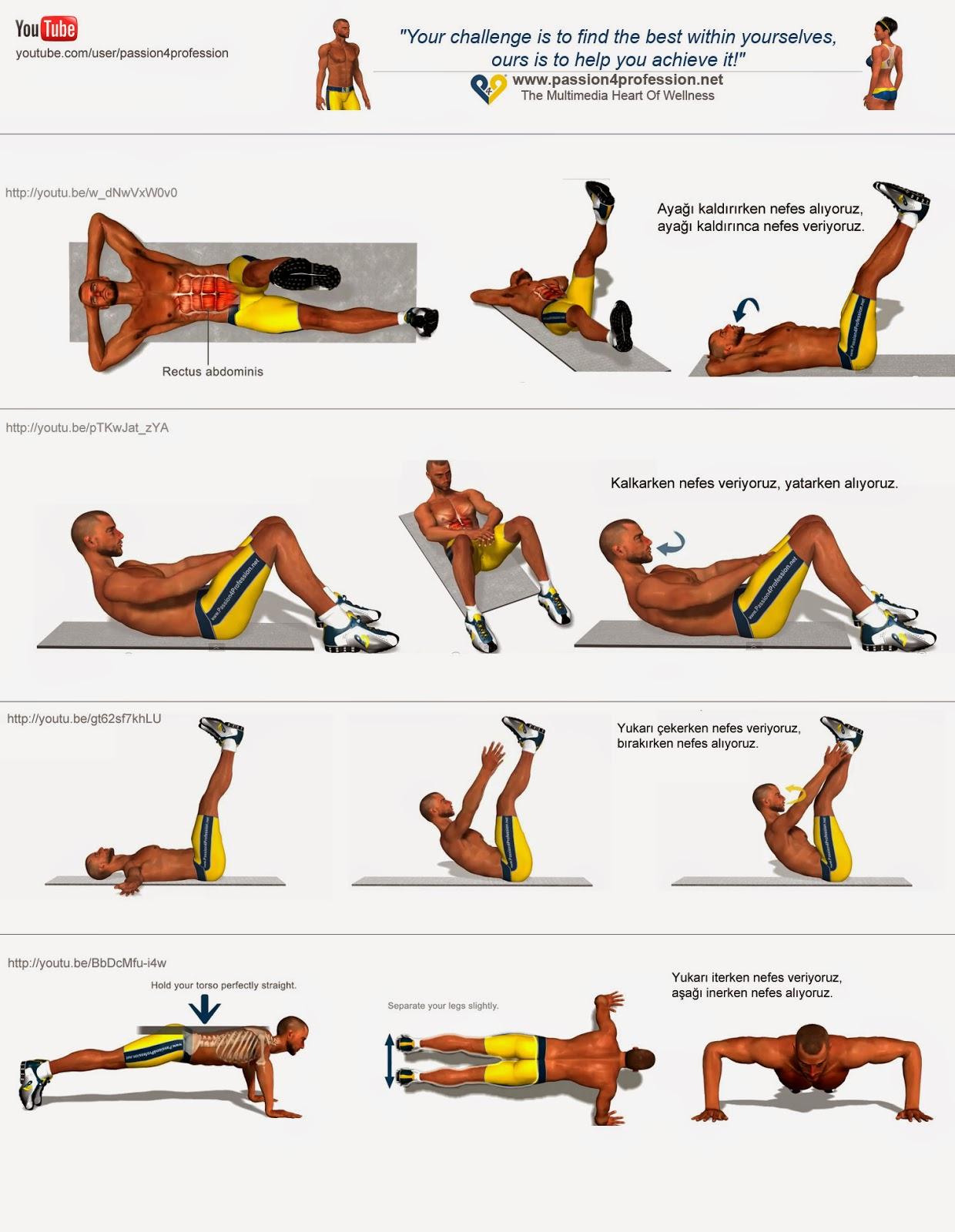Günlük Egzersiz Hareketleri