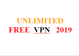 unlimited free vpn