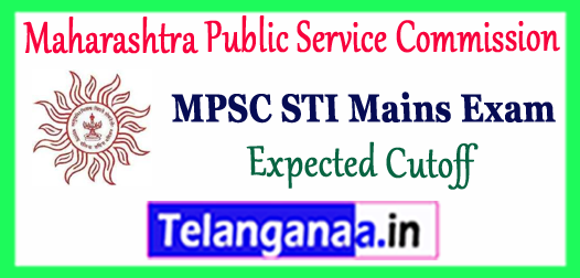 MPSC Maharashtra Public Service Commission Sales Tax Inspector Mains Expected Cutoff 2017-18