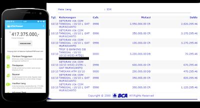 Bukti Pengasilan dan pembayaran dari Aplikasi ATMPONSEL www.pinjamuangonlinetanpajaminan.tk