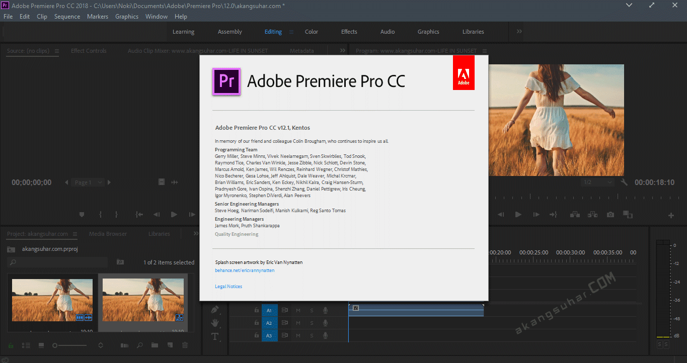 Download Free Adobe Premiere Pro CC 2018 Latest Version, Adobe Premiere Pro CC 2018 Serial Number