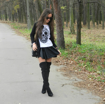 Outfits de moda con botas Negras