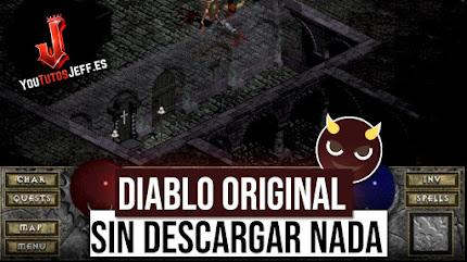 Como Jugar DIABLO Original desde Teléfono o PC Sin Descargar Nada