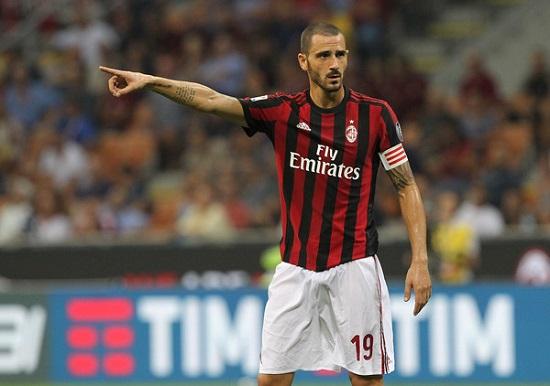 Trung vệ xuất sắc Leonardo Bonucci.