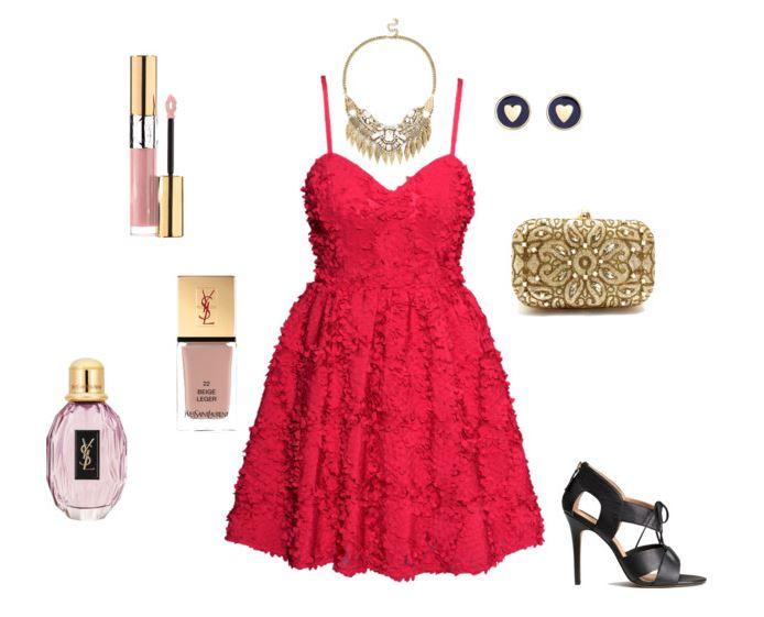 stylizacja na wesele, strój na wesele, jak się ubrać na wesele, czerwona sukienka na wesele, jakie dodatki do czerwone sukienki, blog modowy