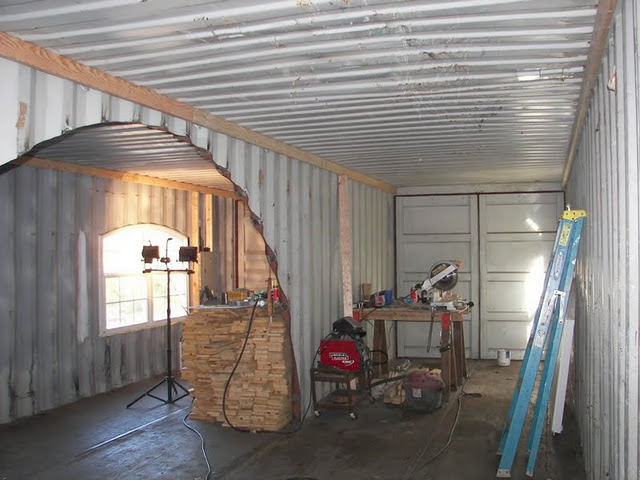 Shipping container homes crack two 2 x 40 39 shipping - Shipping container homes pictures ...