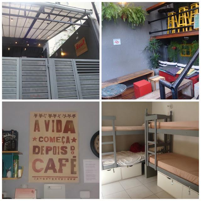 Onde ficar em São Paulo - dica de hospedagem barata - Soul Hostel, perto da Avenida Paulista
