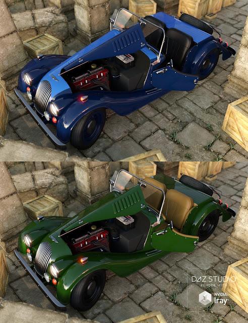 Sports Car Morris Iray