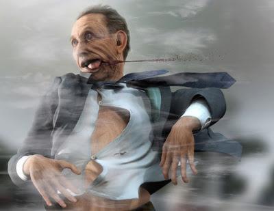 Modelado 3D zombie