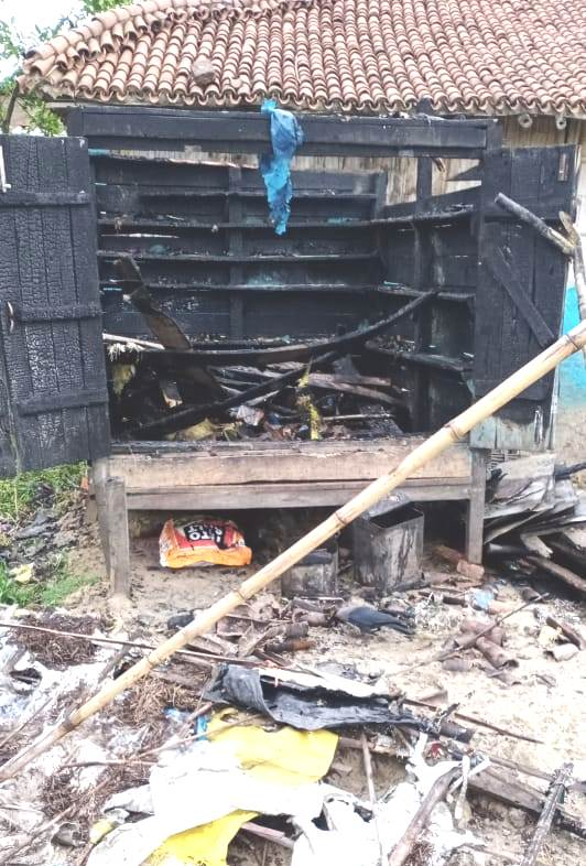 किराना दुकान में आग से पचपन हजार की क्षति