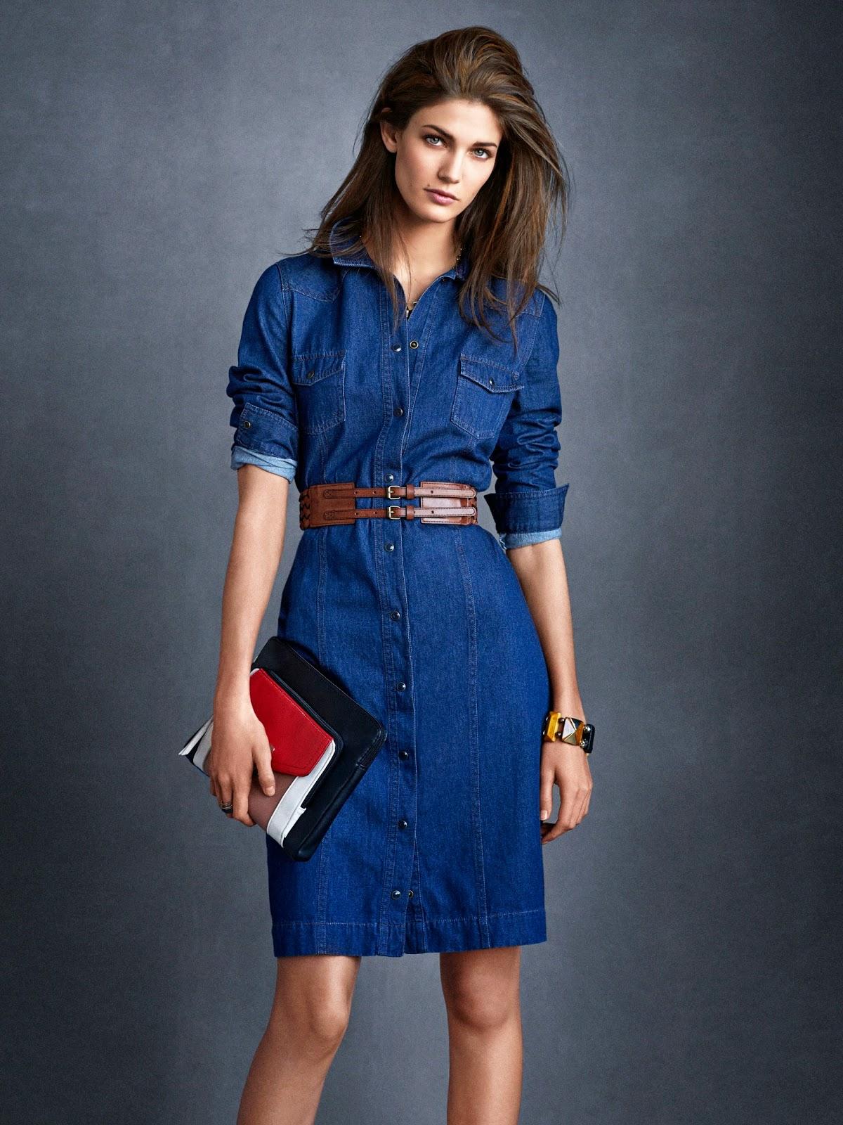 bf5efec930b Модные джинсовые платья на фото для вас