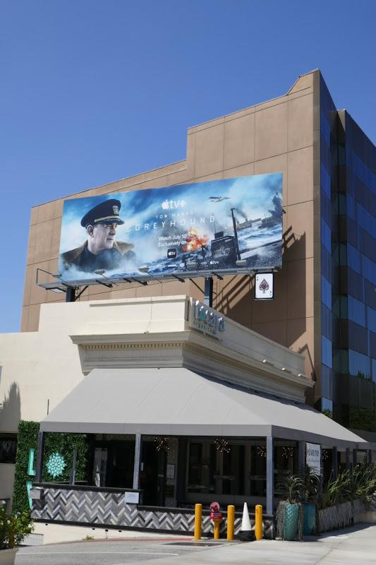 Greyhound film billboard