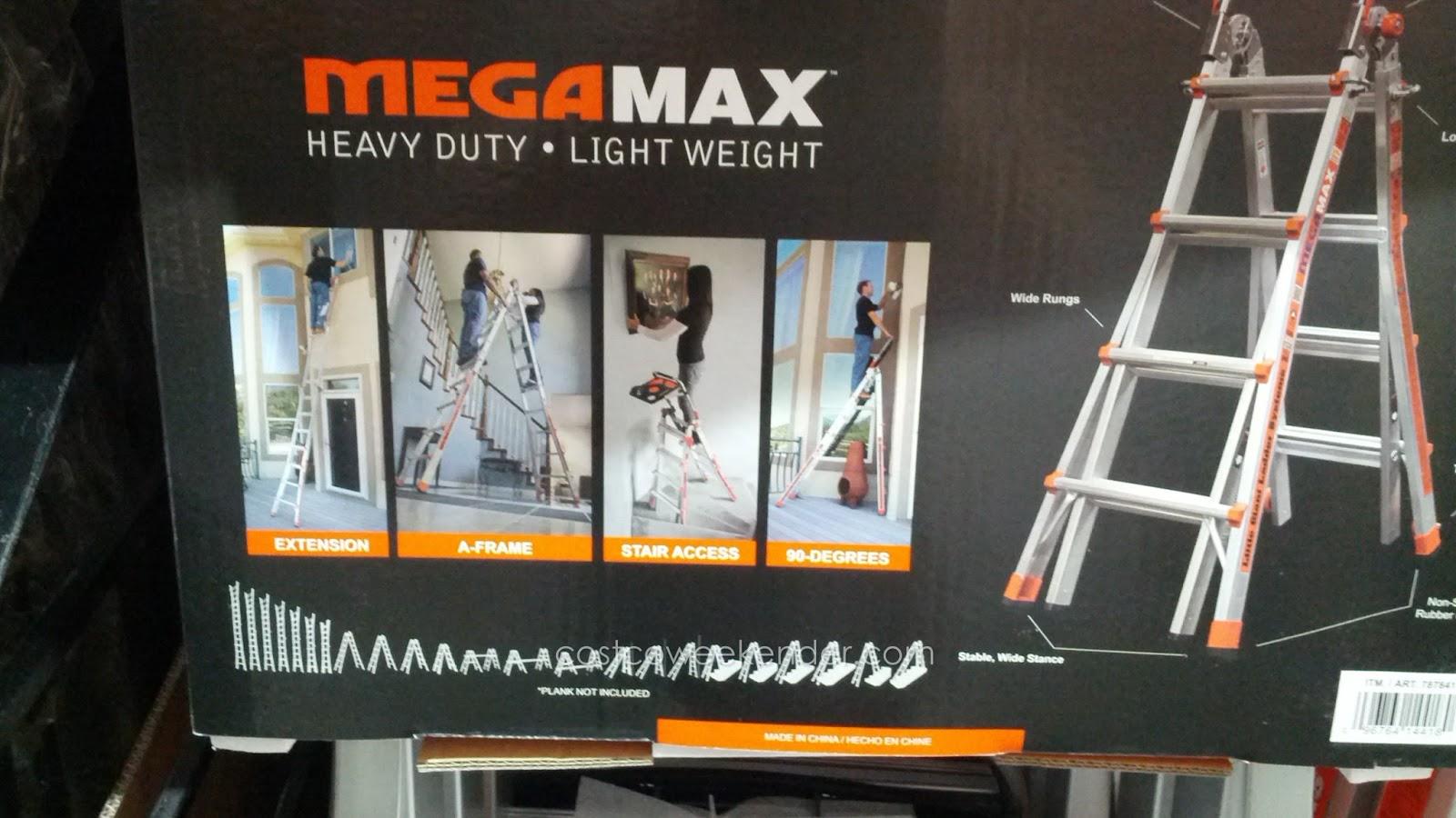 Little Giant Megamax M17 Aluminum Ladder Costco Weekender