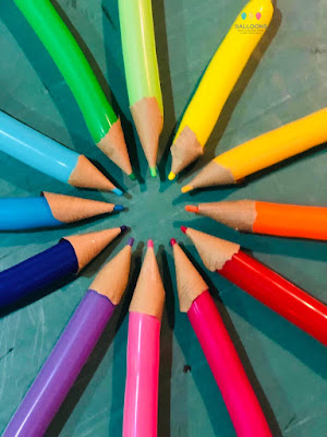 These 'Coloured Pencils' are simply fabulous - simple but so effective!