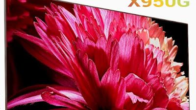 Sony X950G 55 Inch TV 4k