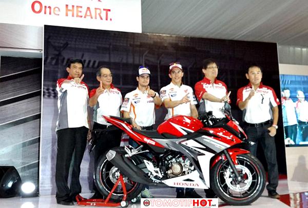 Marquez dan Pedrosa Luncurkan All New Honda CBR150R di Sirkuit Sentul
