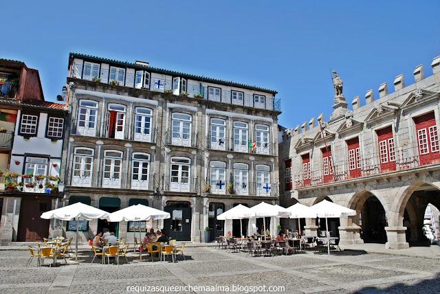 Centro Histórico, Largo das Oliveiras, Guimarães