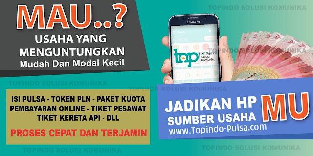 Cara Mudah Memulai Usaha Bisnis Jualan Pulsa Murah Bersama Topindo-Pulsa.com PT Topindo Solusi Komunika