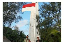 TNI Kunjungi Elkana Amarduan, Penjaga Mercusuar di Pulau Terluar Indonesia-Australia