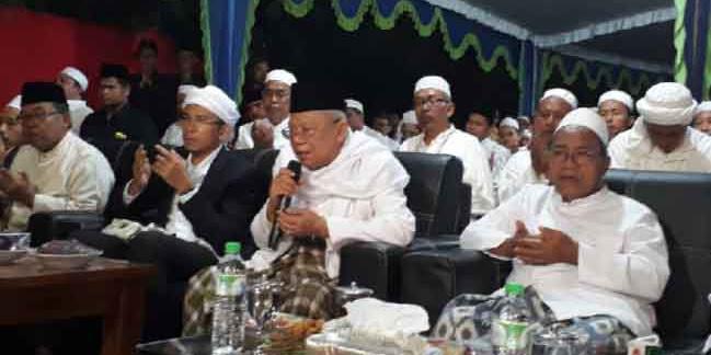 KH Ma'ruf Amin: Kalau tak Ada Orang Alim, Umat akan Angkat Pemimpin Bodoh
