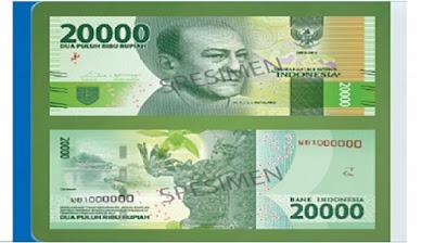 Uang Baru 20.000
