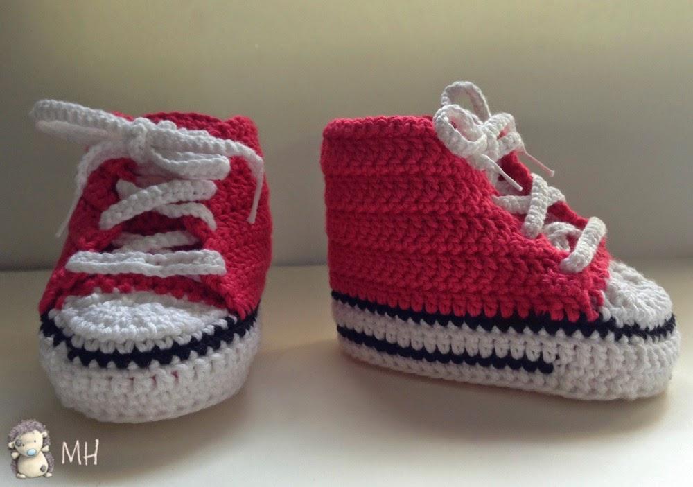 Conerse a crochet