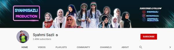 Popular Youtuber di Malaysia