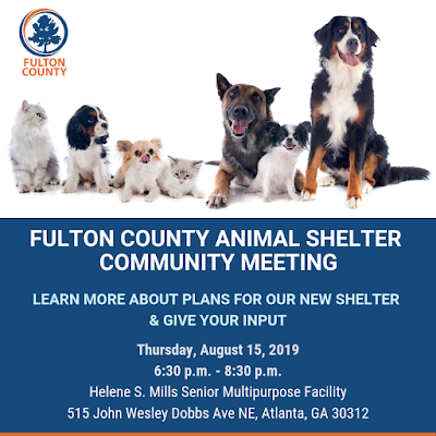 FUlton County Animal Shelter Community Meeting Image
