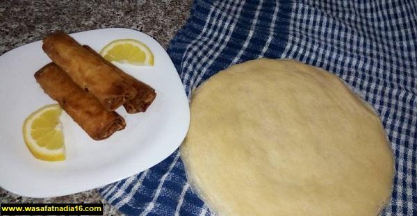 بوراك ام وليد مكتوبة بالبطاطا والجبن وباللحم وعمل ورق البوراك