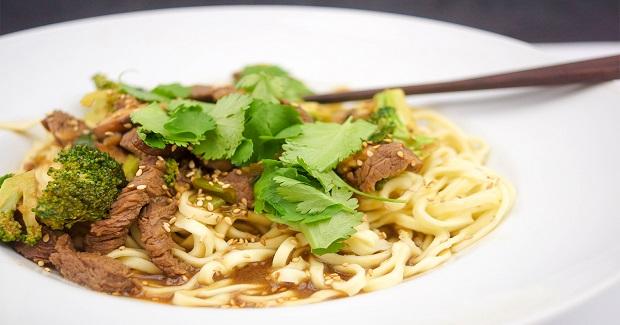 Spicy Mongolian Beef And Shiitake Mushroom Stir-Fry Recipe