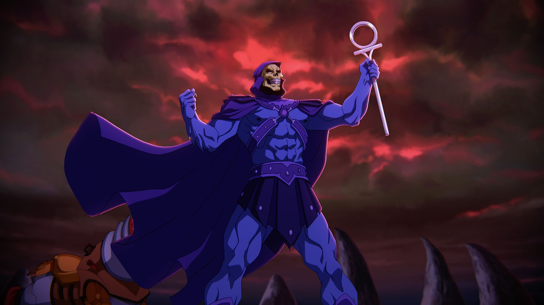 Masters of the Universe Revelation Skeletor