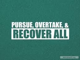 pursue overtake and recover all lyrics