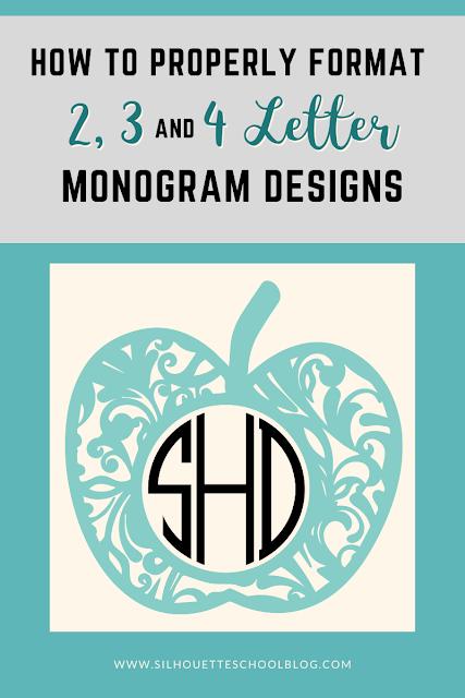 silhouette 101, silhouette america blog, Vinyl monogram machine, vinyl monogram, vinyl monogram decals