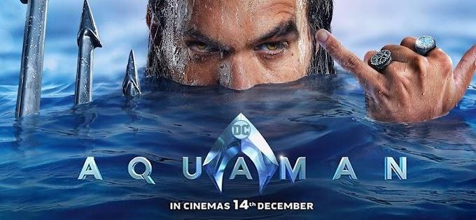 Aquaman: Hang loose em novo banner | Luta contra Orm em novas fotos