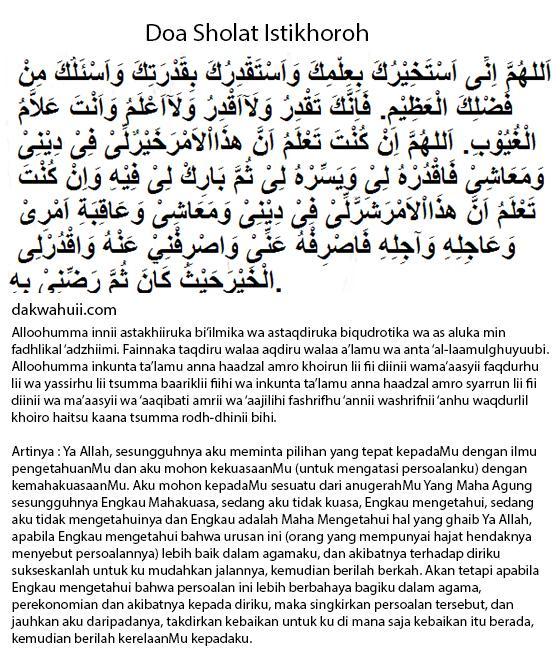 Manfaat Waktu Pelaksanaan Doa Sholat Istikhoroh Langsung Dapat Petunjuk Jawaban