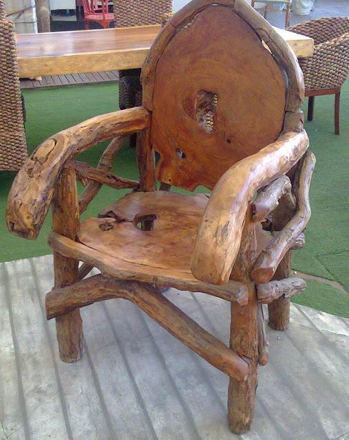 Como hacer una silla rústica para nuestro jardín | BUEN ... - photo#26