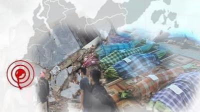 Sepasang Suami Istri Korban Gempa M 6,2 Ditemukan Tewas Berpelukan