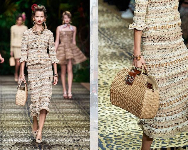 Dolce & Gabbana весна-лето 2020 Показ моды 8