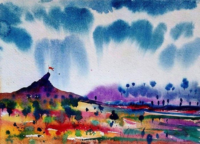 Индийский художник. Sanjay Punekar