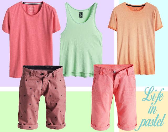 couleurs pastel colors